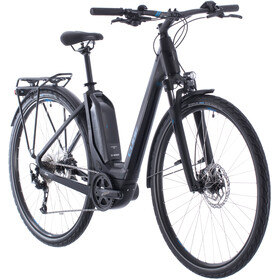 Cube Touring Hybrid One 500 Easy Entry black/blue